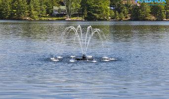 1/2 Horsepower Iris Fountain