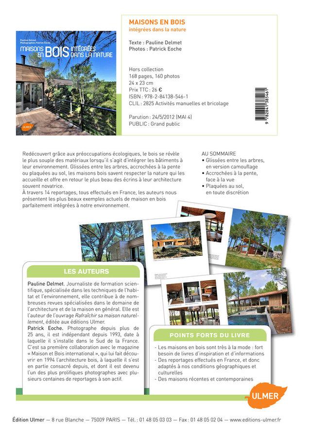 Mon livre sur les maisons en bois