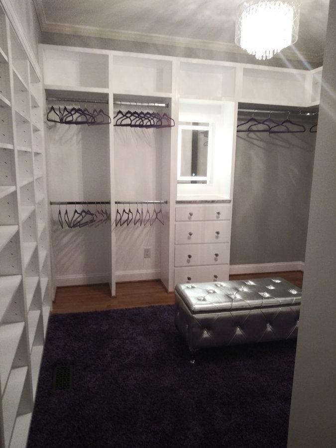Danielle\'s Master Closet - Bella Kitchen and Bath