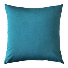 Pillow Decor - Sunbrella Peacock Outdoor Pillow 20 x 20
