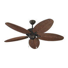 "Monte Carlo Fan Company 52"" Cruise Outdoor Fan, Roman Bronze"