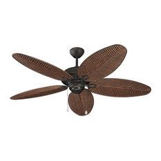"""Monte Carlo Fan Company 52"""" Cruise Outdoor Fan, Roman Bronze"""