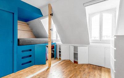 Avant/Après : Deux chambres de bonne muées en studio tout confort
