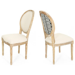 Farmhouse Dining Chairs by GDFStudio