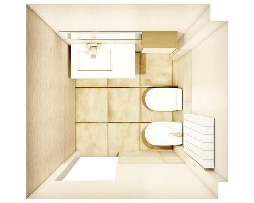 appartamento bari  design del bagno, Disegni interni
