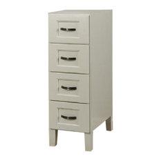 "JSI - JSI Trenton 12""W x 34 1/2""H x 21""D 4-Drawer Vanity Base Cabinet #VT-VDB1221 - Bathroom Vanities and Sink Consoles"
