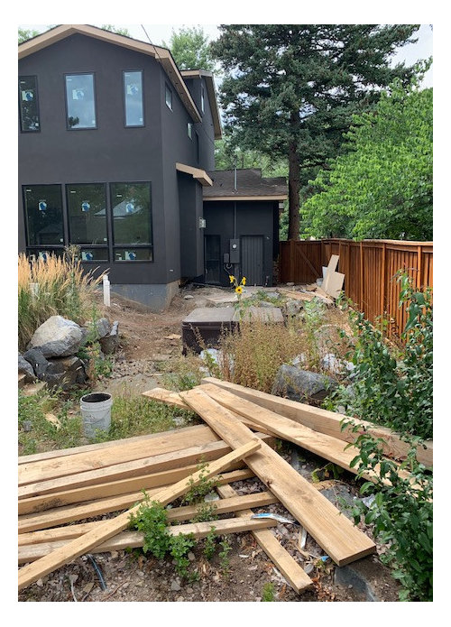 Backyard Landscaping Post Remodel Zone 6a - Ideas? on Backyard Redesign Ideas id=96398