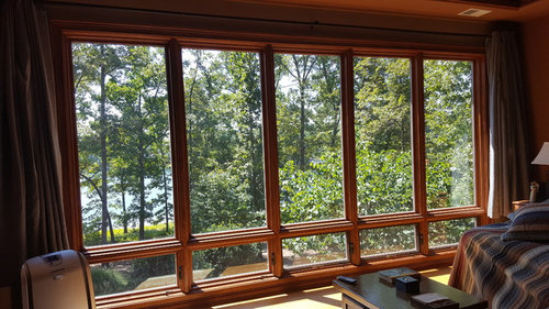 Window Treatments Don T Work We Live On A Lake With View Out Our And Prefer Natural Type Or Looking Products