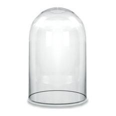 "CYS Glass Cloche Dome Cloche Bell Jar Terrarium, 6""x10.5"""