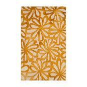Parker Hand Tufted Rug, Beige/Gold, 3'x5'
