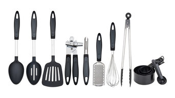 Proctor Silex 18-Piece Stainless Steel Cooking Tool Set