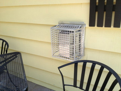 Gas Fireplace Exterior Vent Can I Paint The Protective Cage