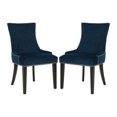 Safavieh Lester Dining Chairs, Set of 2, Navy