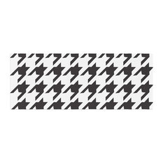 "Empire Ruhl ""Spacey Houndstooth"" Bed Runner"