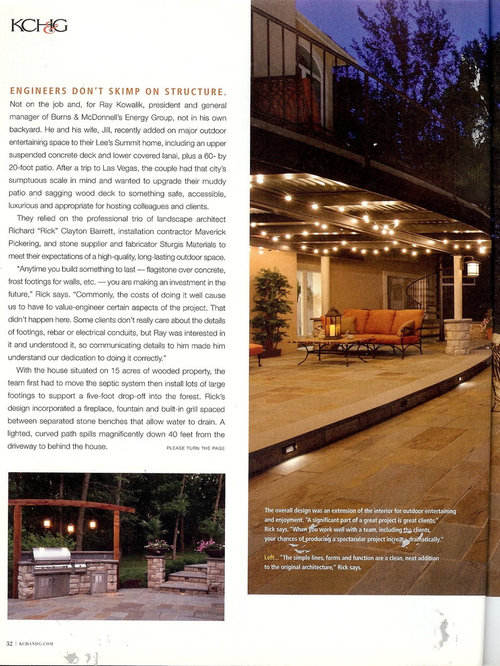 Kansas City Homes And Gardens Magazine Feature June 2014