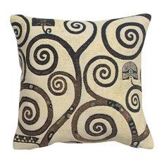 Lebensbaum  Branches Decorative Couch Pillow