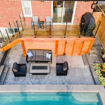 Backyard Enjoyment on Three Levels