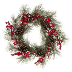 Modern Wreaths And Garlands by Glitzhome