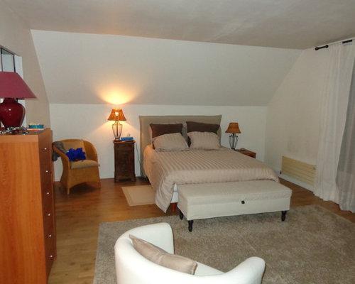 une chambre parentale avec dressing et salle d 39 eau. Black Bedroom Furniture Sets. Home Design Ideas
