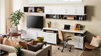 Home Office Storage + Organization