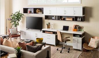 Home Office Storage + Organization