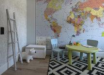 Мне нравится эта географическая карта на стене. Где купить такую же?
