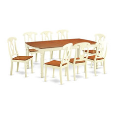 9-Piece Dining Room Set  Table And 8 Dining Chairs