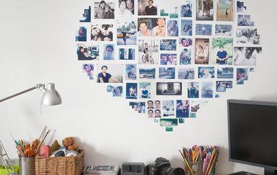 DIY : Former un cœur pour exposer ses photos au mur, mode d'emploi
