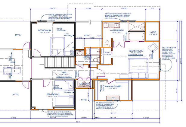 Traditional Floor Plan by Alair Homes Decatur