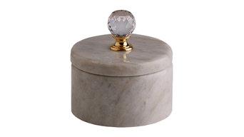 """Ask ljus marmor Kristall/mässing """"Light Crystal"""""""