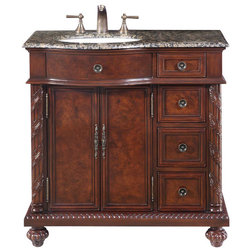 New Victorian Bathroom Vanities And Sink Consoles by Silkroad Exclusive