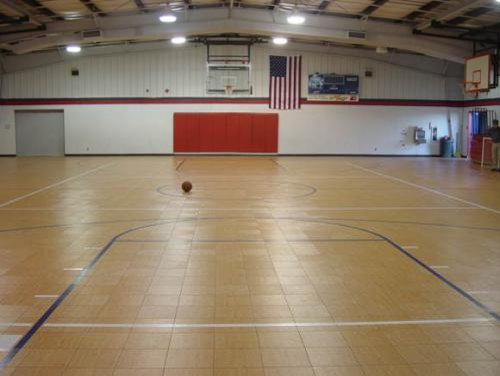 Home courts gymnasiums for How much to build an indoor basketball court
