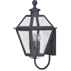 Vaxcel Lighting T0080 Nottingham 3 Light Outdoor Wall Sconce