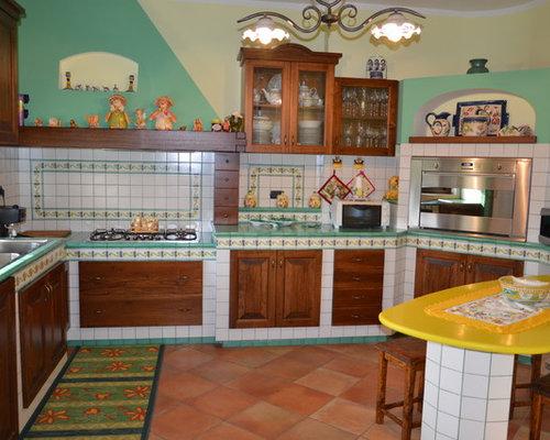 Cucina in ceramica di vietri