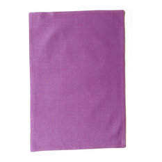"""Texture Placemat, Set Of 6, Orchid, 19""""x13""""x1"""""""