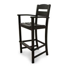 Ivy Terrace Classics Bar Arm Chair, Black