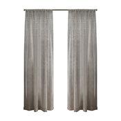 "Davos Belgian Linen Sheer Rod Pocket Curtain, Set of 2, Linen, 54""x96"""