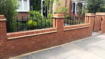 Brickwork Fence Design and Installation