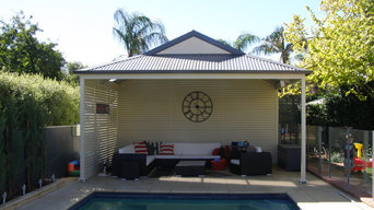 Dutch Gable Verandah & Garage