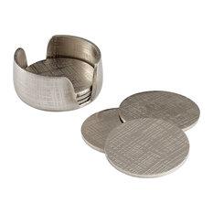 Cyan Nickel Coasters