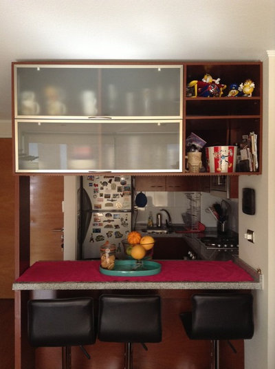 Traditional  My compact kitchen