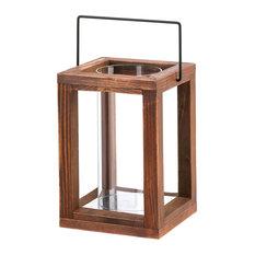 Garden Wooden Lantern, Rustic