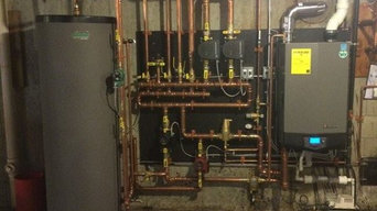Lochinvar boiler and indirect water heater