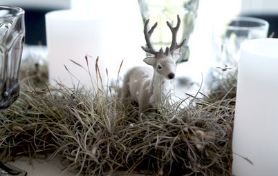 Holiday Table Decor Sends a Welcoming Message
