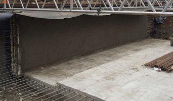 Chiswick 6 house development with under garden basements