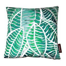 Green Jungle Cushion, 45x45 Cm
