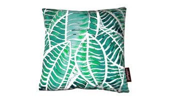 Green Jungle Cushion, 45x45 Cm