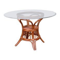 """48"""" Universal Round Dining Table Base In Sienna"""