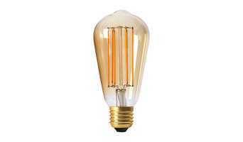 Amitex LED Sapphire Filament LED Lightbulb - Squirrel Cage 200lm/2.5W