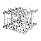 """21"""" Two-Tier Cookware Organizer"""
